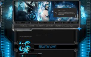 Скриншот сайта The new people: evolution