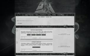Скриншот сайта The mist
