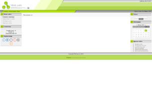 """Скриншот сайта Сайт клана """"Gladius of fame"""""""