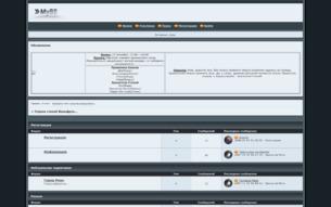 Скриншот сайта Страна Стихий Вальфрел...