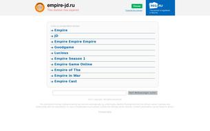 Скриншот сайта Empire JD 3.1.1 (PvE / PvP)
