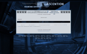 Скриншот сайта Ascention: mankind divided